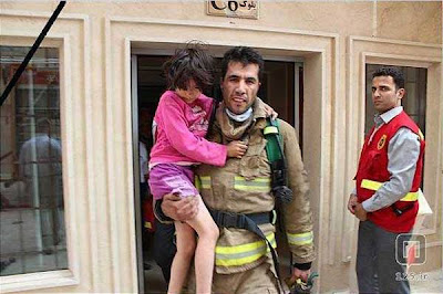Iranian Fireman Donates His Organs After Dying Saving a Little Girl