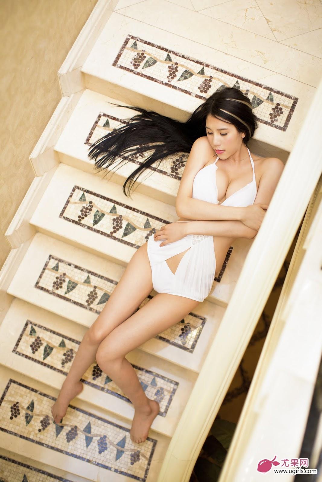 EZ0A8643 2 - Ugirls No.023 Model: 南湘baby Great Tits