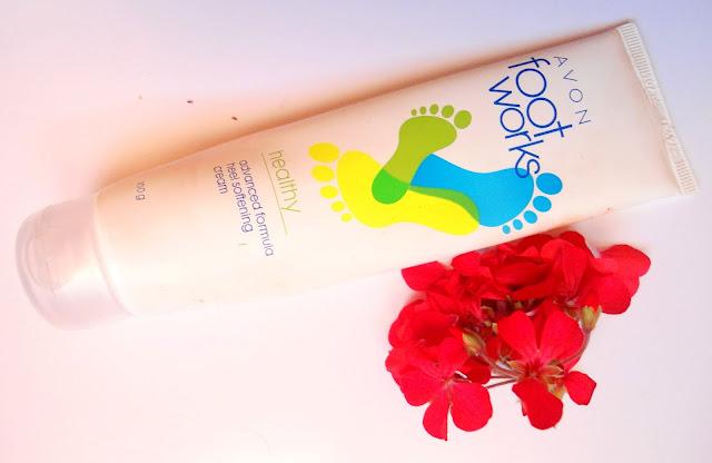 AVON Foot Works Heel Softening Cream Review