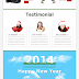Holiday - Christmas and New Year Bootstrap Theme