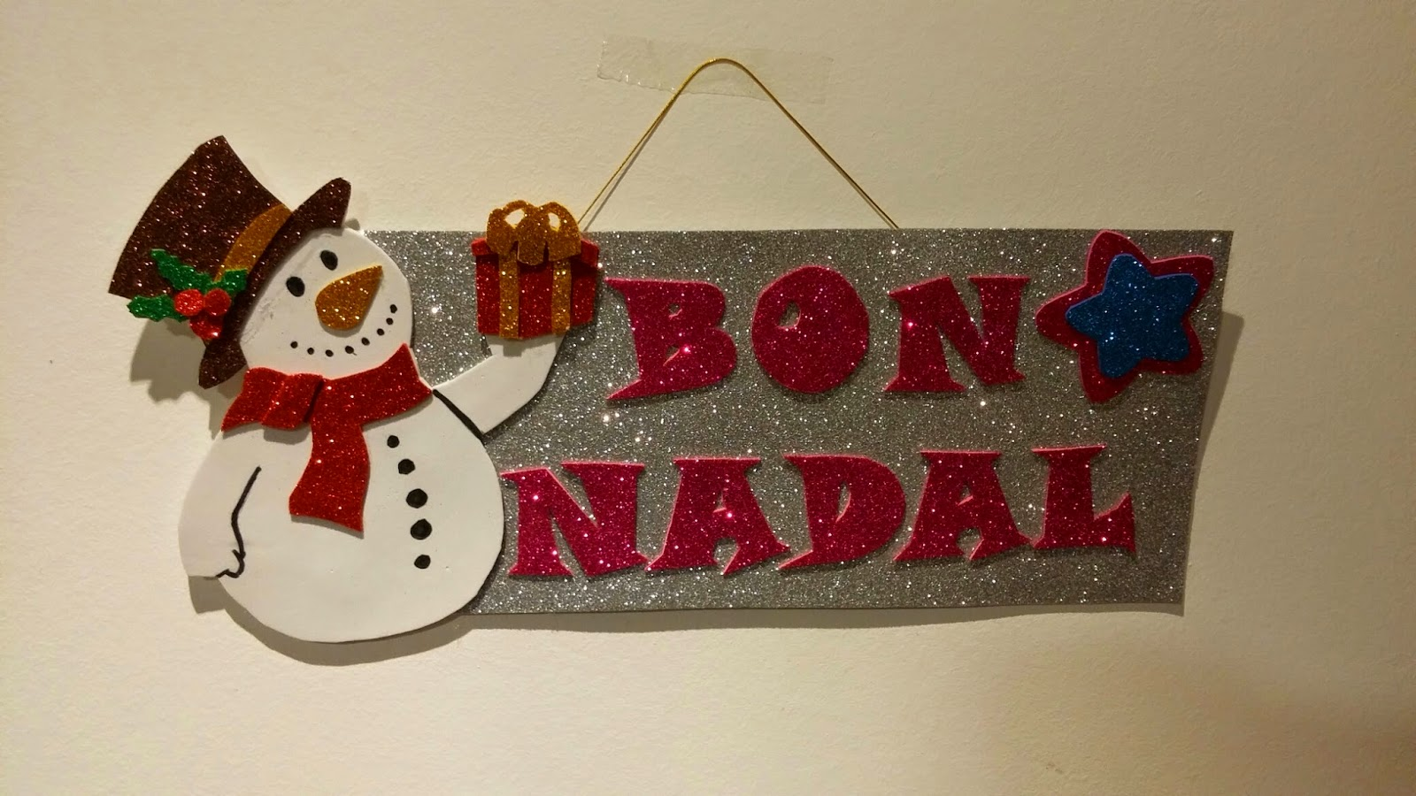 Rase una vez una aguja adornos navide os en goma eva - Adornos navidenos de goma eva ...