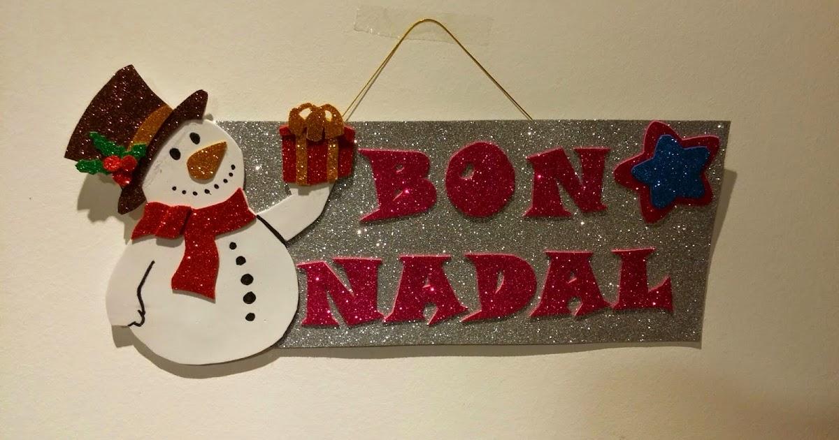 Rase una vez una aguja adornos navide os en goma eva - Adornos de nadal ...