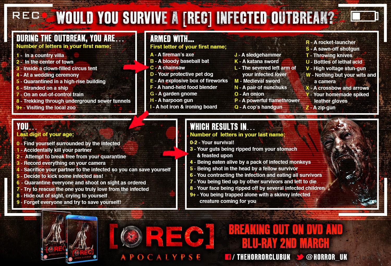 Rec Apocalypse: Ways to Die