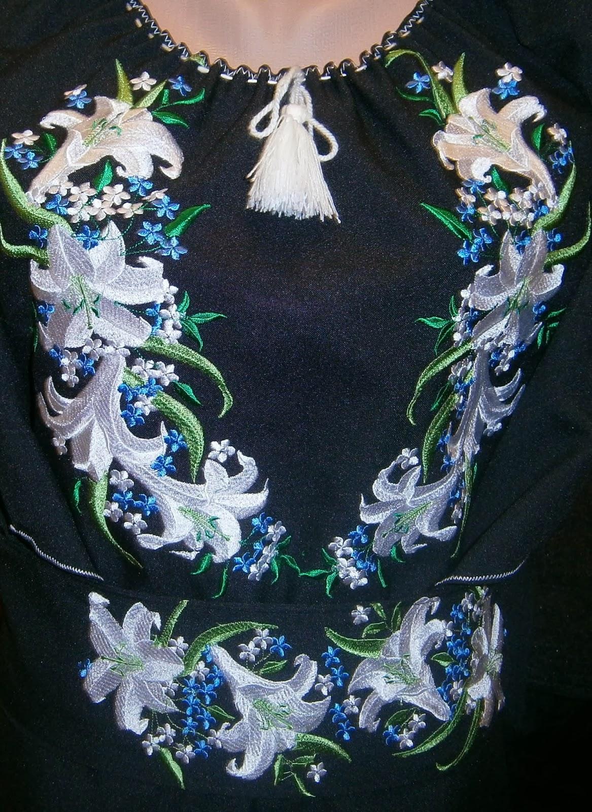 схема вишивки бісером плаття