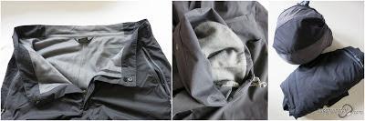 Vapour-rise Lite Pants Details