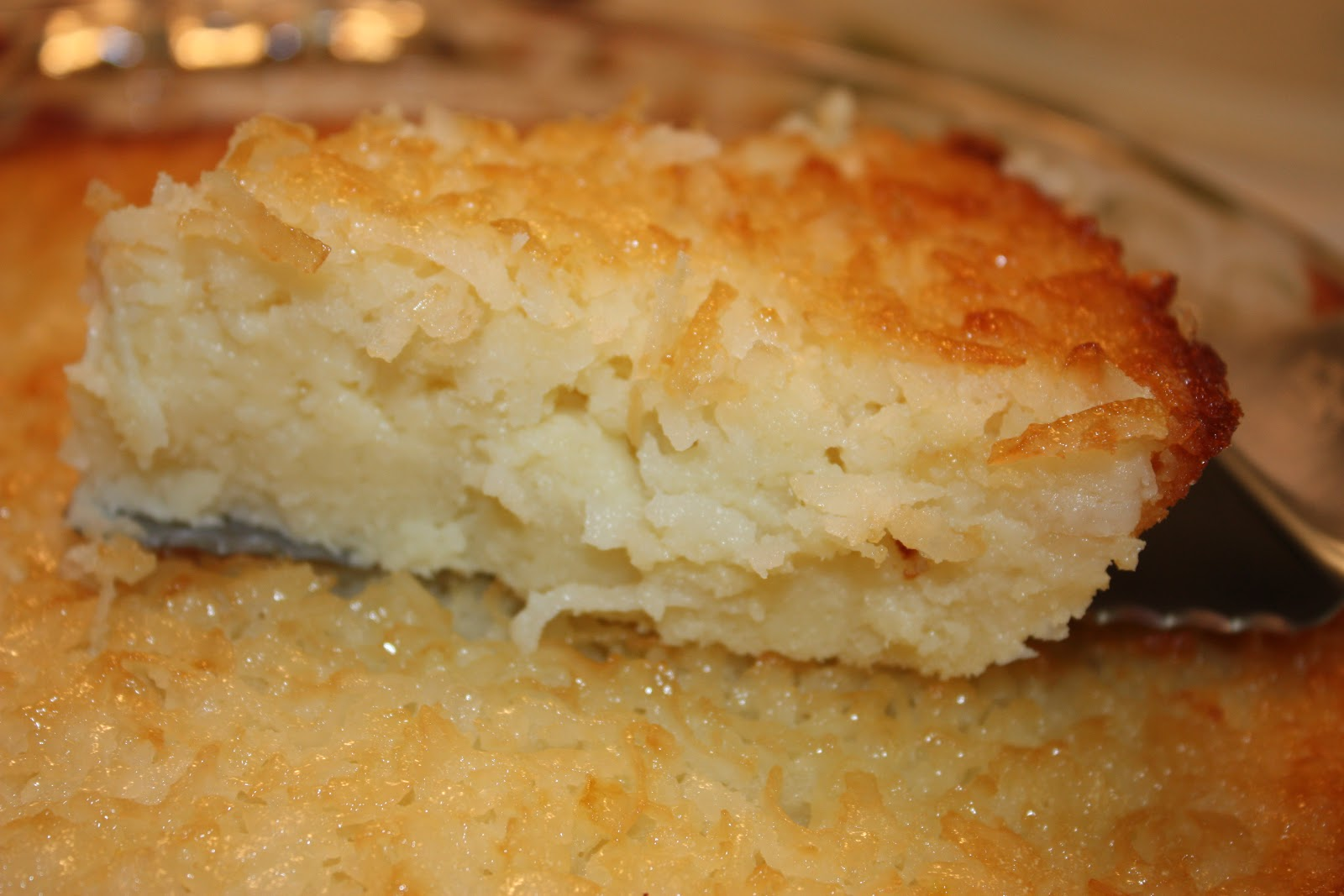 ... Gluten Free: My Version of a Gluten Free Crustless Coconut Pie