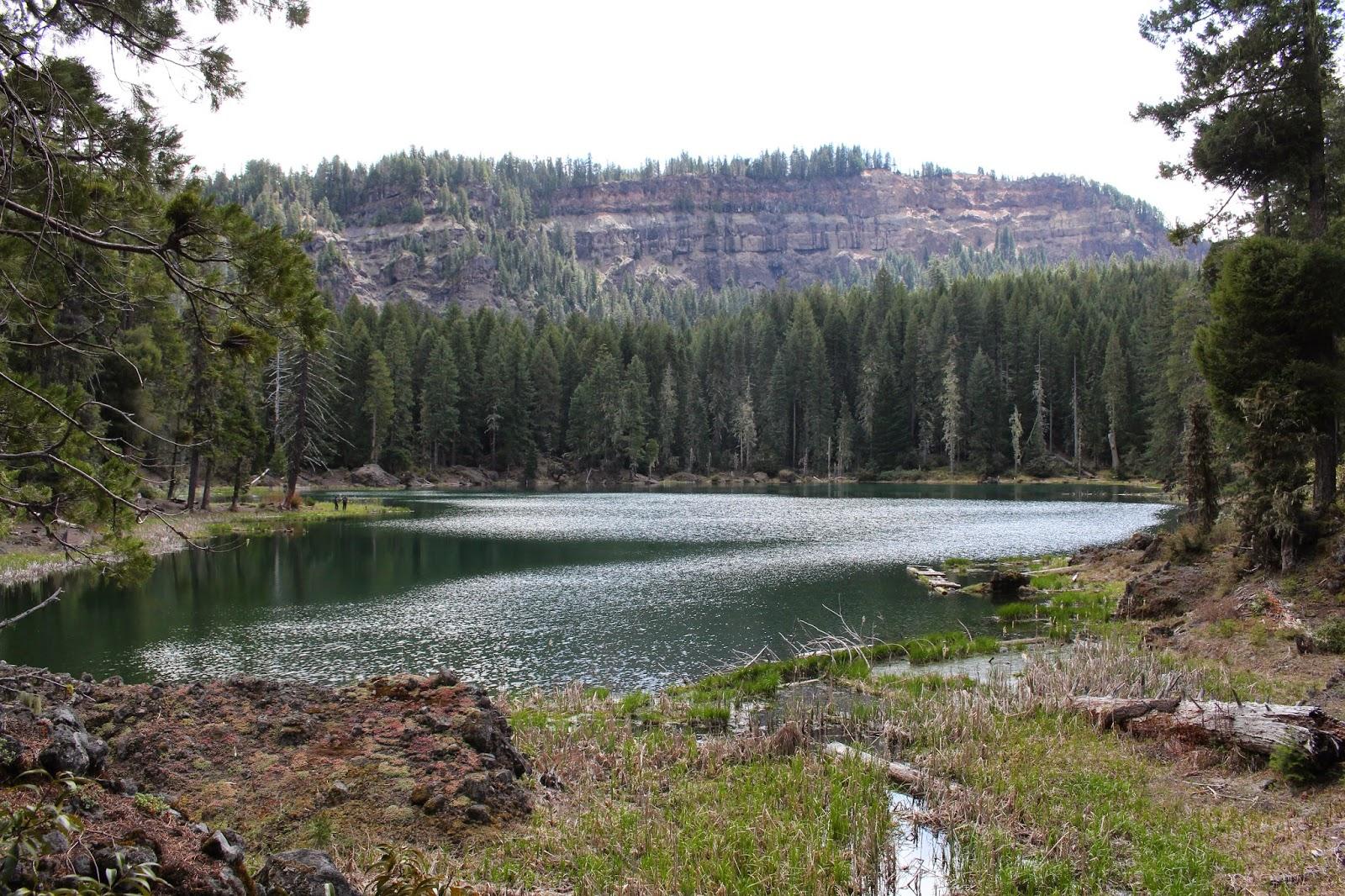 Richard hikes buckeye and cliff lakes for Buckeye lake fishing