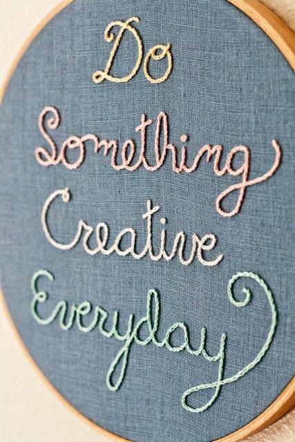something creative, креатив, рукоделие, вышивка