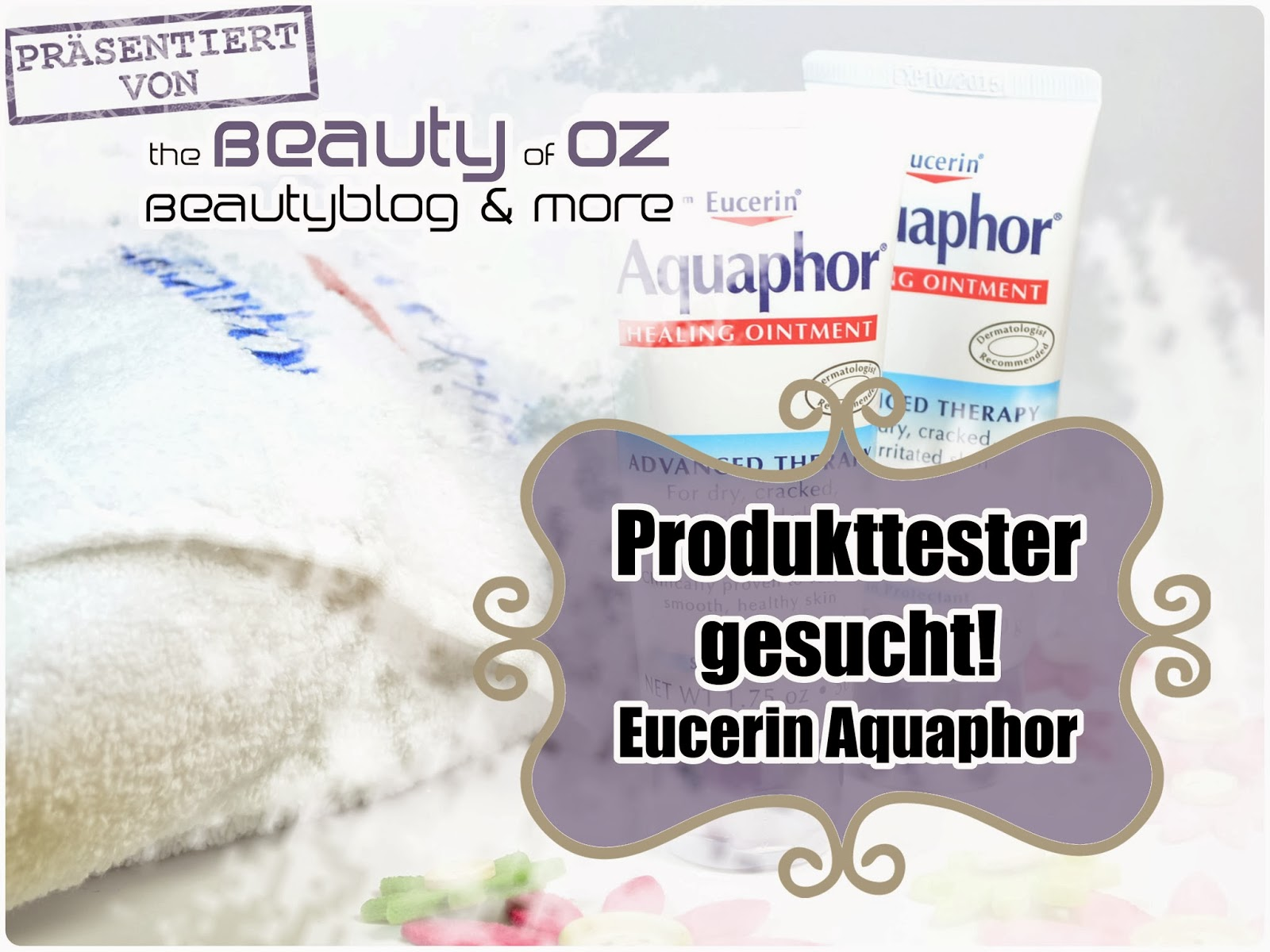 Werde mit Eucerin & The Beauty of Oz Produkttester