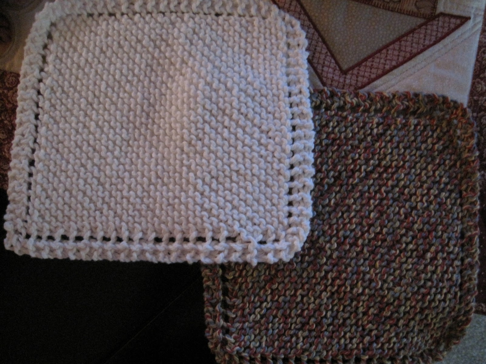CynSew: Knitted Dishcloths, So Easy, So Nice!!