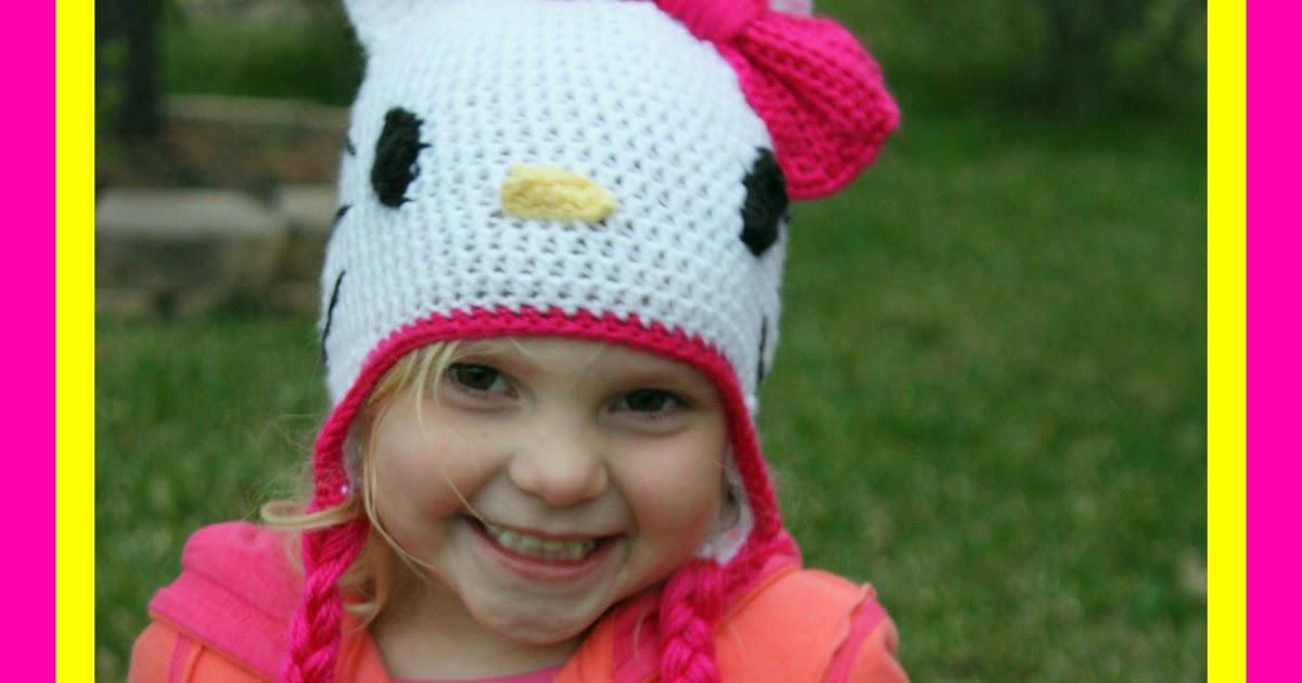 Huckleberry Love Crochet Hello Kitty Hat Tutorial