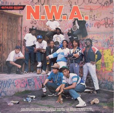 N.W.A – Panic Zone / Dope Man / 8-Ball (VLS) (1987) (320 kbps)