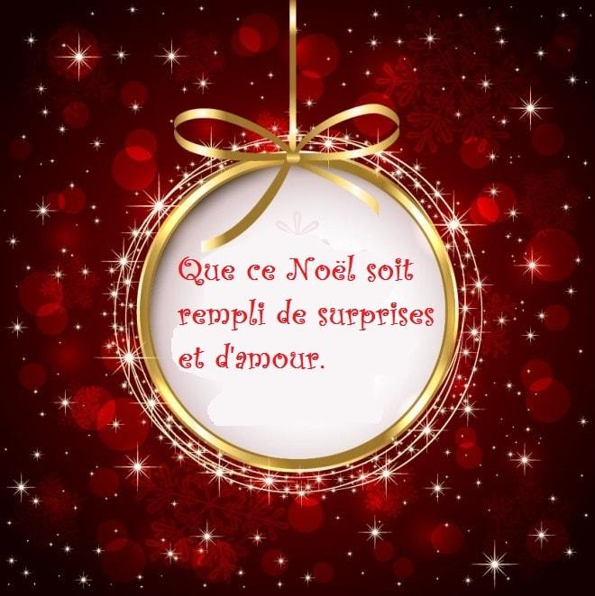 Häufig SMS d'amour 2018 - SMS d'amour message: Beaux Textes de Vœux pour Noël EE36