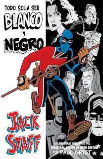 review de Jack Staff, todo solía ser Blanco y Negro [Aleta Ediciones].
