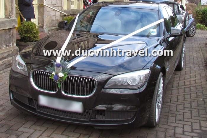 Cho thuê xe cưới BMW 750Li siêu Vip tại Hà Nội