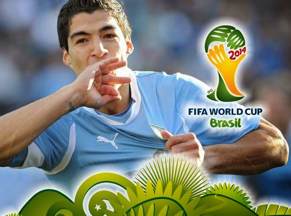 Watch Uruguay vs Costa Rica Fifa World Cup 2014 Live Streaming Online with FREE Wallpapers