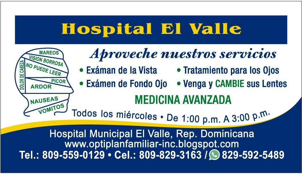 Municipio: El Valle