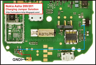 Nokia Asha 200 - 201 Charging Solution