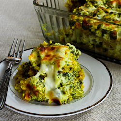 Vegetarian Curried Brown Rice and Broccoli Casserole with Creamy Curry ...