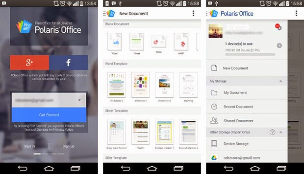 Polaris Office Apk