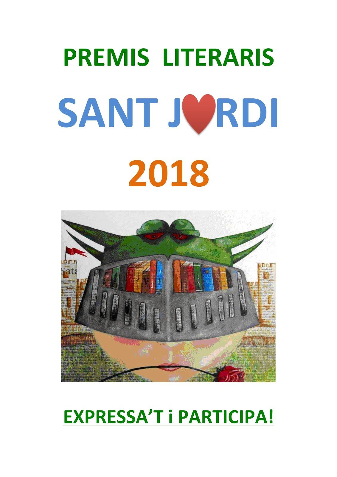 PREMIS LITERARIS SANT JORDI