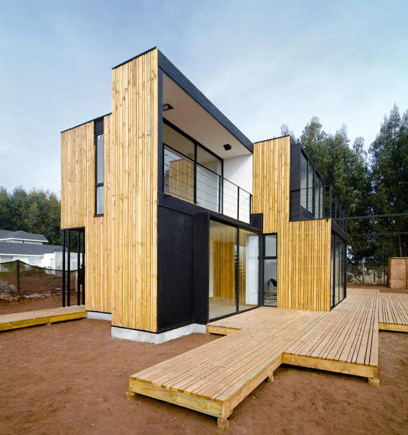 Prefab sip panel house modern prefab modular homes for Structural insulated panel home plans