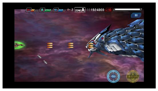 【積みゲー レビュー】 第3回目は「ダライアスバーストSP」 小さな画面に詰まったダライアスの世界に興奮するシューティングゲーム。 darius-Image002-2