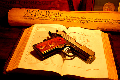 More you cannot be pro gun and claim to follow christ s teachings