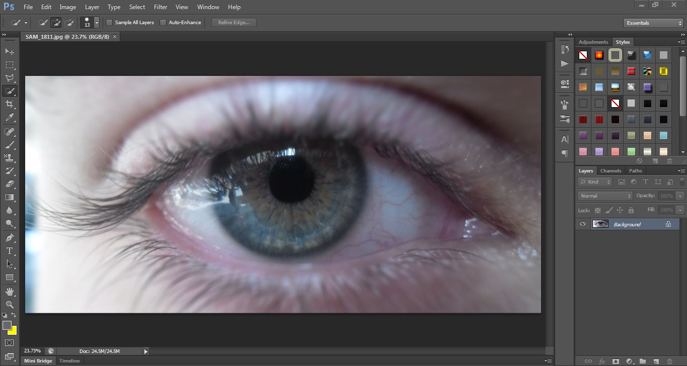Photoshop tutorial how to make your own sharingan eye photoshop now open the file which contain your sharingan eye baditri Choice Image