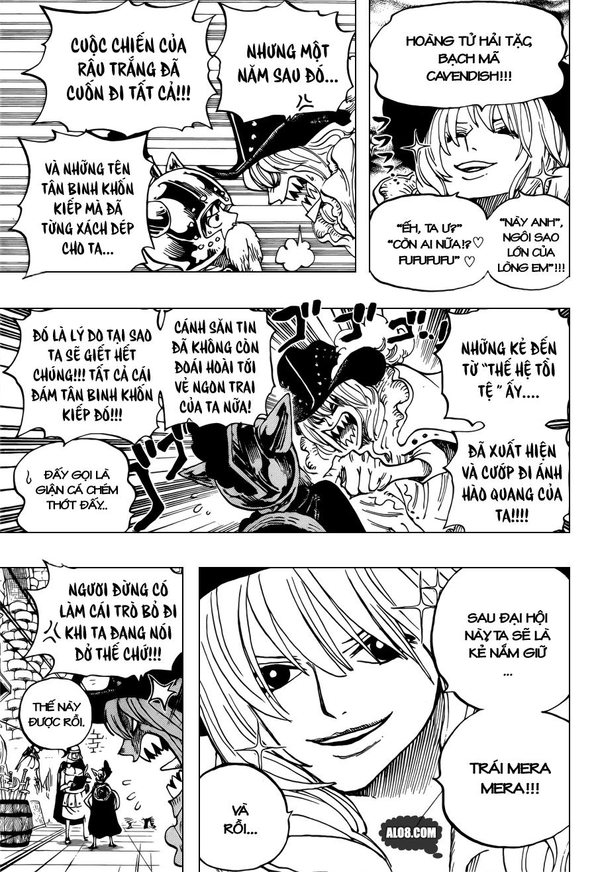 One Piece Chapter 704: Lucy và bức tượng của Kyros 013