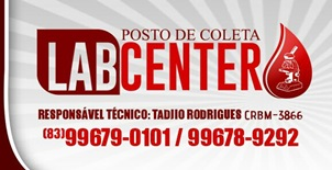 LAB CENTER POSTO DE COLETA