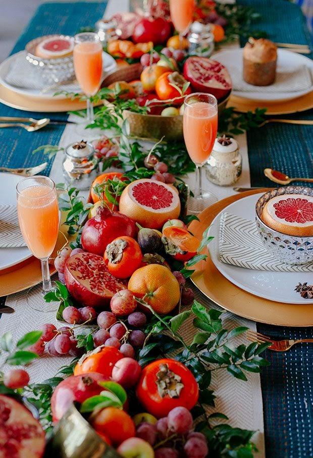 centros de mesa para bodas con frutas