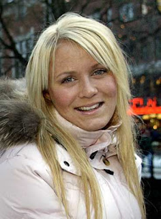 Swedish Soccer Player Josefine Oqvist