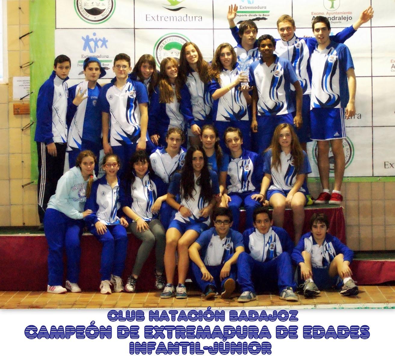Cto. Extremadura Edades Inf-Jun. 2013/2014