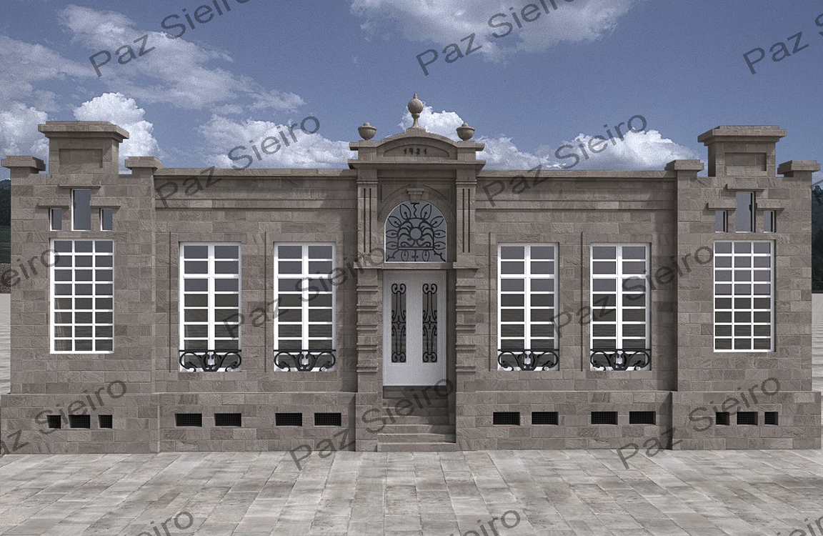 Edificio escola do avemar a 1912 parque do pos o for Ornamental definicion