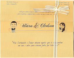Convite com Caricatura