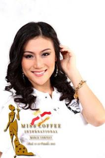 Bianca Beatrice, Runner Up 1 Miss Coffee International 2012
