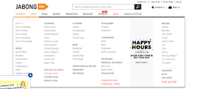 online shopping from jabong.com review