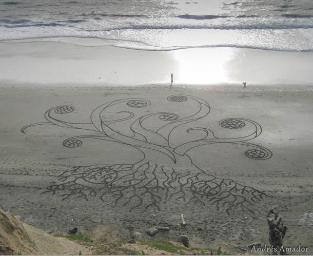 Sand Art / Arte na areia | Andres Amador