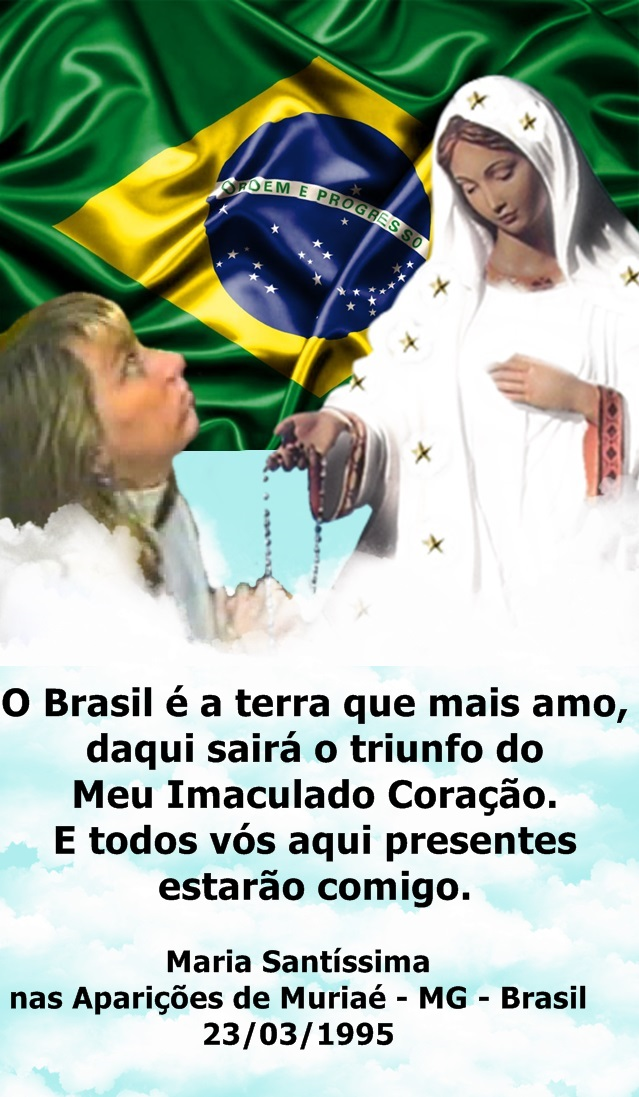 O BRASIL É A TERRA QUE MAIS AMO!!!