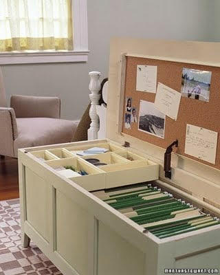 diy office organization