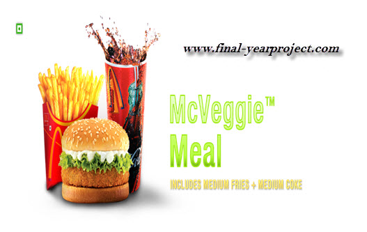 project report mcdonald supply chain