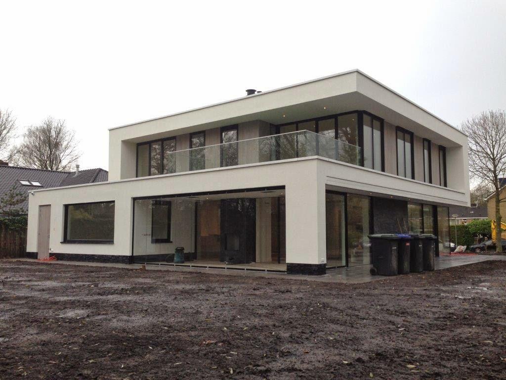 Moderne villa te dordrecht van der padt partners for Moderne villa