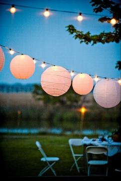 Decoraci n para fiestas iluminar el jard n for Iluminar jardin sin electricidad
