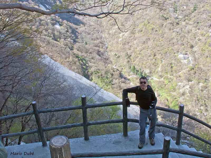 Le sentier des gorges au mont Hua (Chine)