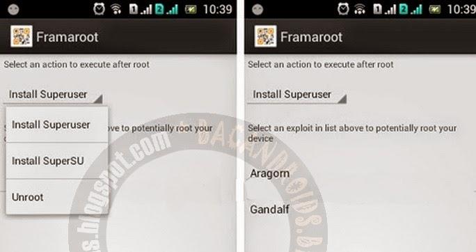 Root Smartfren Andromax U3 Tanpa PC dengan Framaroot