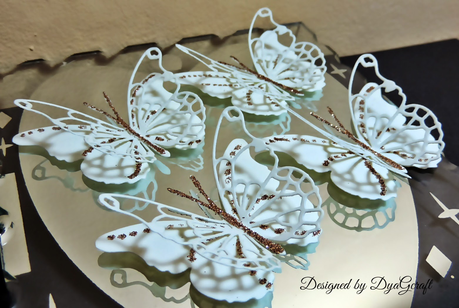 fluturi de nunta ivoire handmade