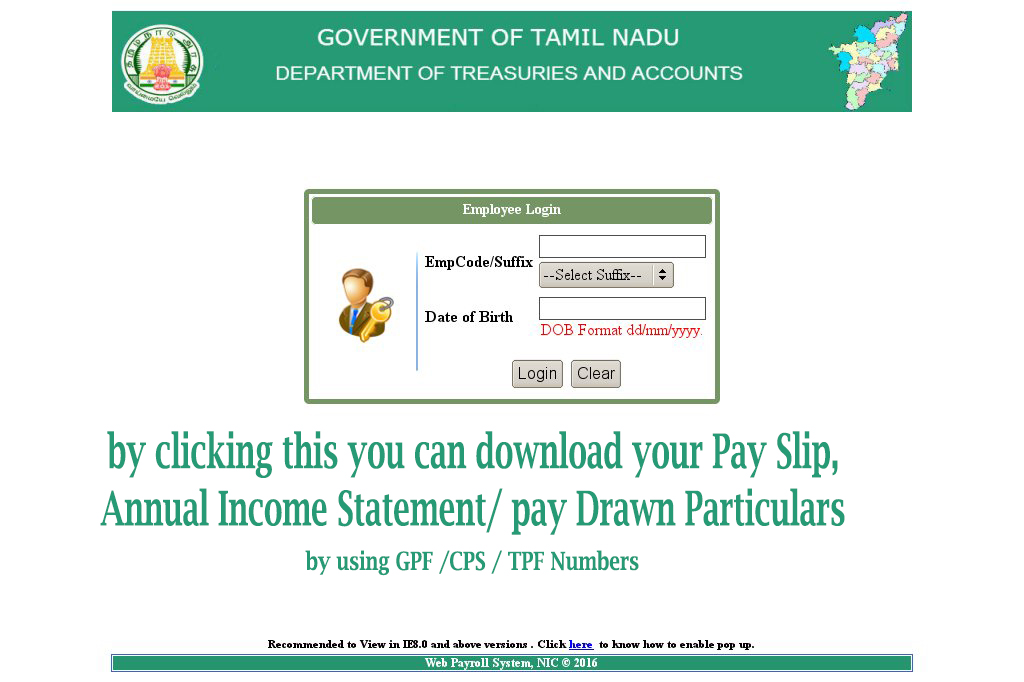 PAY SLIP/ PAY DRAWN PARTICULARS