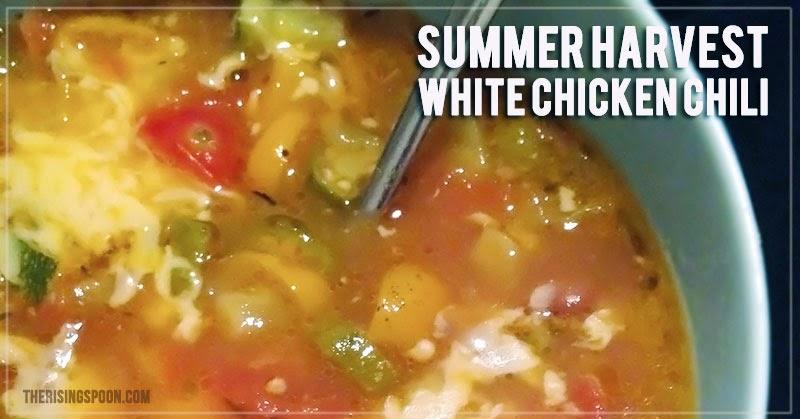 Summer Harvest White Chicken Chili Recipe
