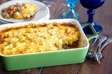 Cottage Pie with Yukon Potato Topping